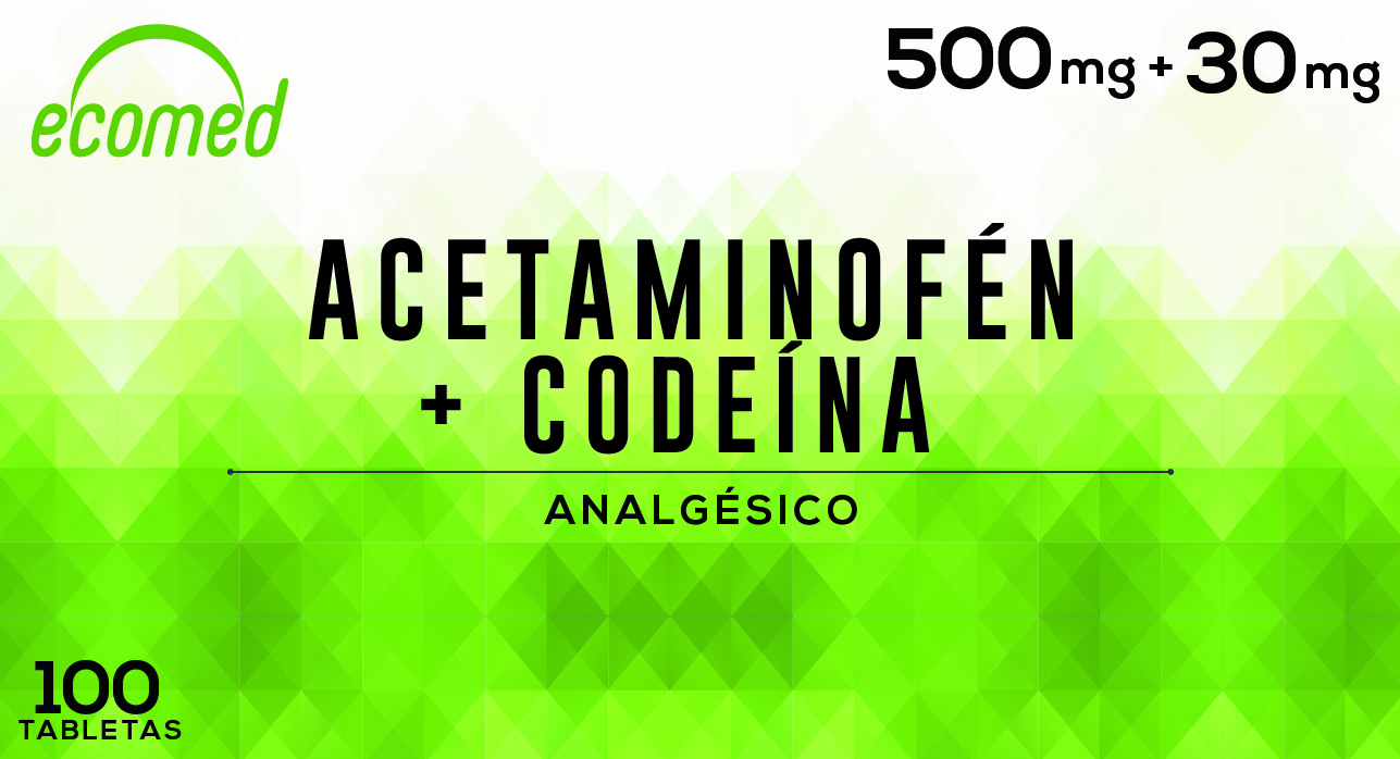 ACETAMINOFEN + CODEINA x 100 Tabs N-01