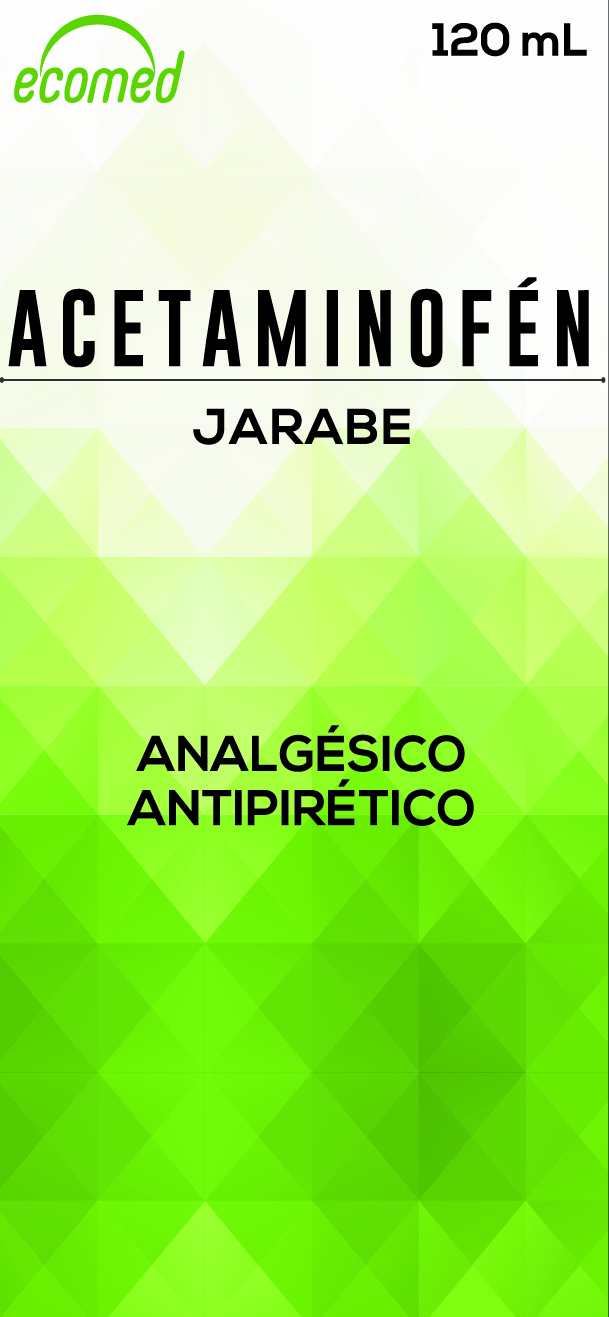 ACETAMINOFEN CX120 mL Jarabe N-01